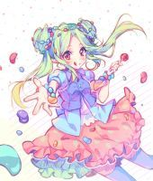 [+Video] Commission - Sweet party! by Hyanna-Natsu