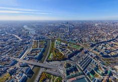 Moscow from the altitude of 540 meters • AirPano.com • Photo. Russia