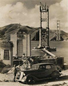 1937 the building of the Golden Gate Bridge