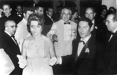 FESTIVAL INTERNACIONAL DE CINE DE SAN SEBASTIÁN: San Sebastián (Guipúzcoa), 19-7-1958.- La actriz y cantante Sara Montie ...lafototeca.com