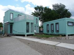 5 Cool Ways to Use Recycled Shipping Containers