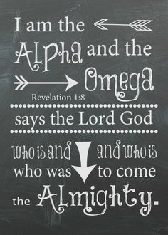 Wednesday Word: Almighty - Revelation 1:8 Free Printable - Frugal & Focused