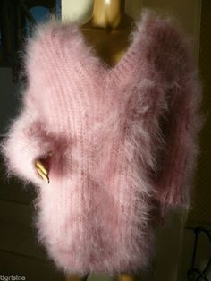 Angora Sweater, Lava, Fur Coat, Pullover, Sweaters, Fashion, Dressing Up, Breien, Moda
