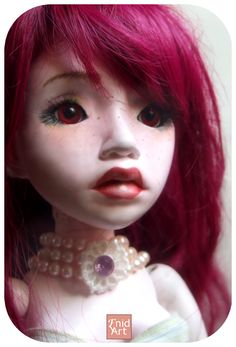 Mae, Ball jointed doll by Enid-Art