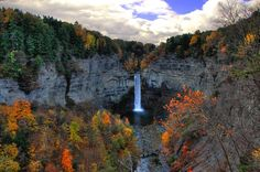 Taughannock Falls, New York, United States