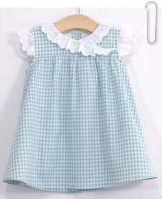 Patron et tutoriel couture gratuits robe vichy pour enfant Patron Robe  Enfant Gratuit 7bf4de34707