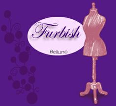 Logo 3 Furbish classic purple and flowers