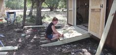 How to Build Ramps For a Shed