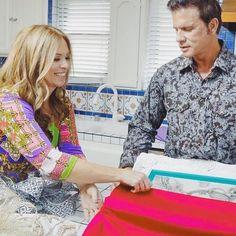 Kelli designing Lorenzo Lamas' Home on Celebrity Holiday Homes on HGTV