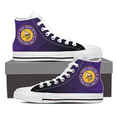 They Hate Us Cause They Ain't Us Minnesota Vikings High Top Shoes