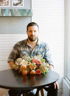Humans with Bouquets: William | Crafstman and Wolves | Tulipina