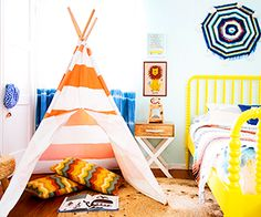 A Totally Rad Kid's Room Makeover