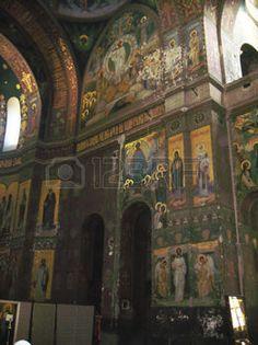 abkhazia monastery: New Aphon monastery inside.