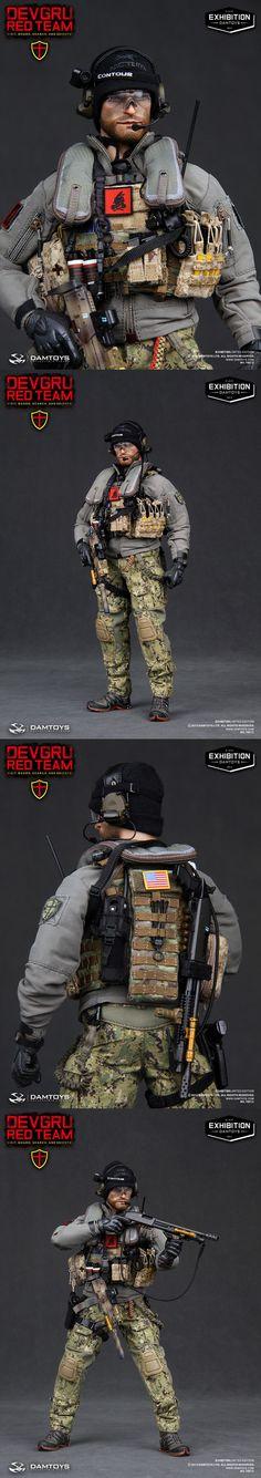 ONE SIX_DEVGRU RED TEAM VBSS BY DAMTOYS_ EXHIBITION 2013