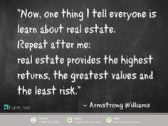Real Estate Investing is a great way to generate cash flow and appreciation. Our slideshare shows how investors and the wealthy have quoted throughout the year… Real Estate Investing, Investors, Oahu, Flow, Appreciation, Quotes, Design, Quotations
