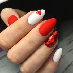 50 Unique and Lovely Valentine's Day Nails 2020 - FavNailArt.com