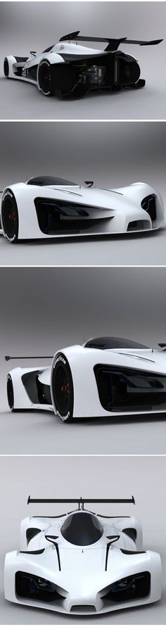 Image via  Lada Raven Concept #Car   Image via  Dolphin concept #car is the third winner of Michelin design challenge 2013, it reflects the principle of sporty, scientific and futuristic.Cars