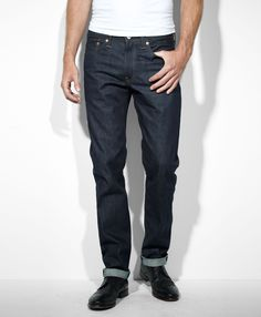 Dave: Levi's 511™ Skinny Made in the USA Jeans - Raw - New Finishes