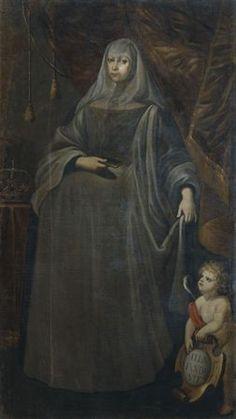 D. Maria Francisca Isabel de Sabóia, por Bento Coelho da Silveira.