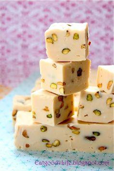 Baileys Irish Cream and Pistachio Fudge - So good!