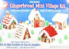 Gingerbread MINI Gingerbread house Village Kit by Wilton