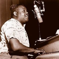 """Well its hard to name a greater more """"hep"""" exponent of that wild rock and roll / rhythm and blues sound than The Fat Man!   Happy birthday Fats Domino, who turned 89 on Sunday!  #motorcity #motorcitygold #rockandroll #rhythmandblues #rnb #happybirthday #legend #icon #thevoice #theman #singer #songwriter #bandleader #hero #fatsdomino #thefatman #thebigbeat #nowplaying #innovator"""