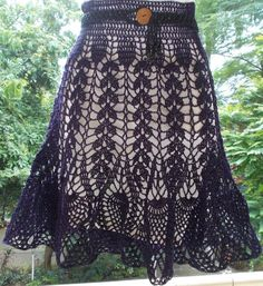 Check out OH WOW!! SUCH A LOVELY SKIRT by member Sweet Nothings. FREE pattern at http://shyamanivas.blogspot.com/2014/09/oh-wow-such-lovely-skirt.html