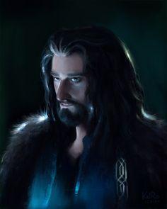 Thorin by KatRoart.deviantart.com on @DeviantArt