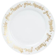 Just use a Sharpie and write around the plate