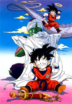 Dragon Ball Z Dragon Ball anime Akira Toriyama Son Gohan Piccolo Son Goku Saiya-jin Saga Saiyan Saga Serpentine Road