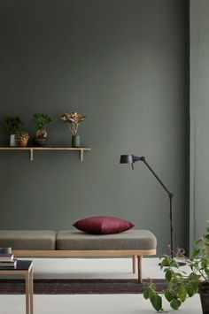 Accent Wall Ideas - An accent wall is needed within a boring room to give them some extraordinary touch. It can also break up a large room. Or, an accent wall can simply define a strong feature in the room. Modern Interior Design, Interior Styling, French Interior, Estilo Interior, Interior Walls, Diy Interior, Luxury Interior, Wall Colors, Paint Colors