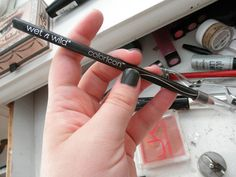 Wet 'N Wild Coloricon Brow and Eye Liner Pencil(won't smear and totally cheap)
