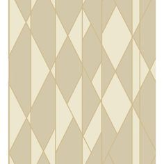 Oblique Wallpaper from the Geometric II Wallpaper Collection from Cole & Son, with criss/crossing angled lines printed in linen on off/white with metallic gold. Linen Wallpaper, Metallic Wallpaper, Geometric Wallpaper, Print Wallpaper, Wallpaper Roll, Pattern Wallpaper, Cream Wallpaper, Wallpaper Ideas, Art Nouveau