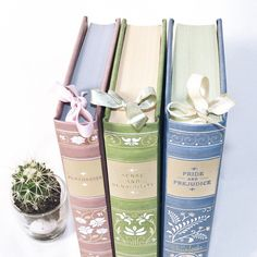 Aren't these leather bound Jane Austen books pretty?  I found out about these editions from @thebookorder colourful account! Check it out if you like beautiful books!✨