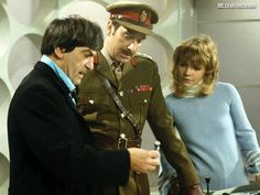 #Sixties | Patrick Troughton, Nicholas Courtney and Katy Manning in Doctor Who
