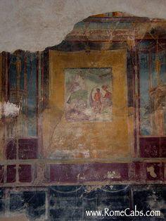 House of the Tragic Poet. Ancient Pompeii, Pompeii Ruins, Pompeii Italy, Pompeii And Herculaneum, Fresco, Rome Painting, France Culture, Ancient Buildings, Volcanoes