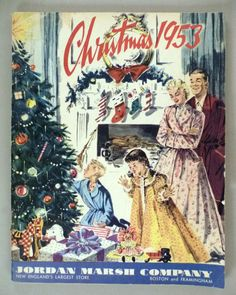 Jordan Marsh CATALOG - Christmas, 1953