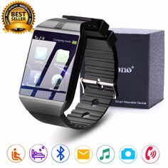 Aggressive Latest Dz09 Smart Watch With Sim Card Slot Camera For Android Samsung Iphone Jewelry & Watches Wristwatches