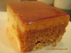 Leche Flan Cake (Custard Cake) with Macapuno - Aaa Lactezin - Filipino desserts Filipino Desserts, Asian Desserts, Filipino Dishes, Filipino Food, Filipino Recipes, Yummy Treats, Sweet Treats, Flan Recipe, Leche Flan Cake Recipe