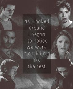 teen wolf.....just realized this is using lyrics from 'Mountain Sound' by Of Monsters And Men...