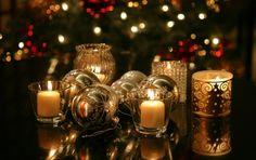 Christmas light - decoration, candle, beautiful, merru christmas, wonderful, sparkles, harmony, beauty, fir tree, light, warmth, christmas balls