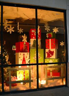 Woodstock Market Christmas Window 2012