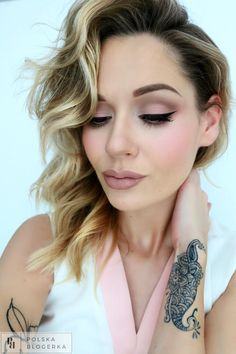 Pink makeup from my blog :)