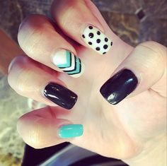 easy nail art for this spring