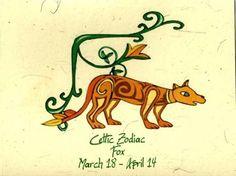 Celtic Zodiac handmade hemp paper birthday card