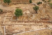 Hebrew University in Jerusalem and the Israel Antiquities Authority have been working at the site known as Khirbet Qeiyafa, 20 miles outside of Jerusalem, since 2007. But on Thursday they said they had uncovered the walls of a palace and storeroom that give new insight into the rule of King David. The structures were part of a fortified city that was ruled from a central authority in Jerusalem and may have been the site of the biblical story of David and Goliath.