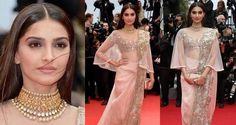 Sonam Kapoor In Anamika Khanna At Canness Film Festival