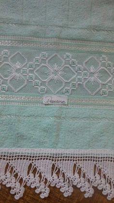bordado hardanger toalha banho ile ilgili görsel sonucu
