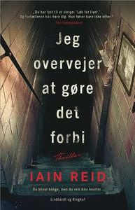 10 stars out of 10 for Jeg Overvejer At Gøre Det Forbi by Iain Reid #boganmeldelse #bookreview #bookstagram #booknerd #bookworm #books #bookish #booklove #bookeater #bogsnak Read more reviews at http://www.bookeater.dk