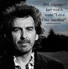 Will always miss you, George.